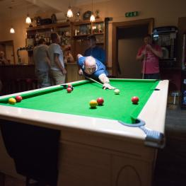 The Smugglers Inn Herne Pool table